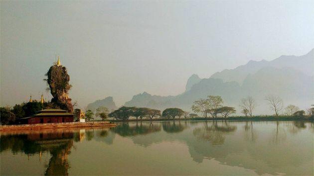 仏教の聖地がある洞窟寺院へ。ラスト・フロンティア「パアン」へビジネス調査旅へ