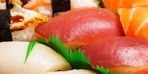 Japanese sushi bento