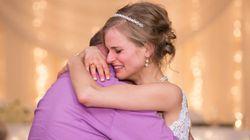 白血病を克服した花嫁、命の恩人のドナーと結婚式でダンス