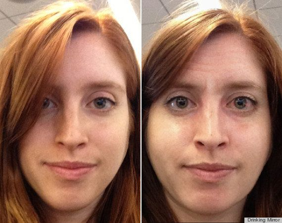 酒量別に「10年後の顔」を予想できるアプリ