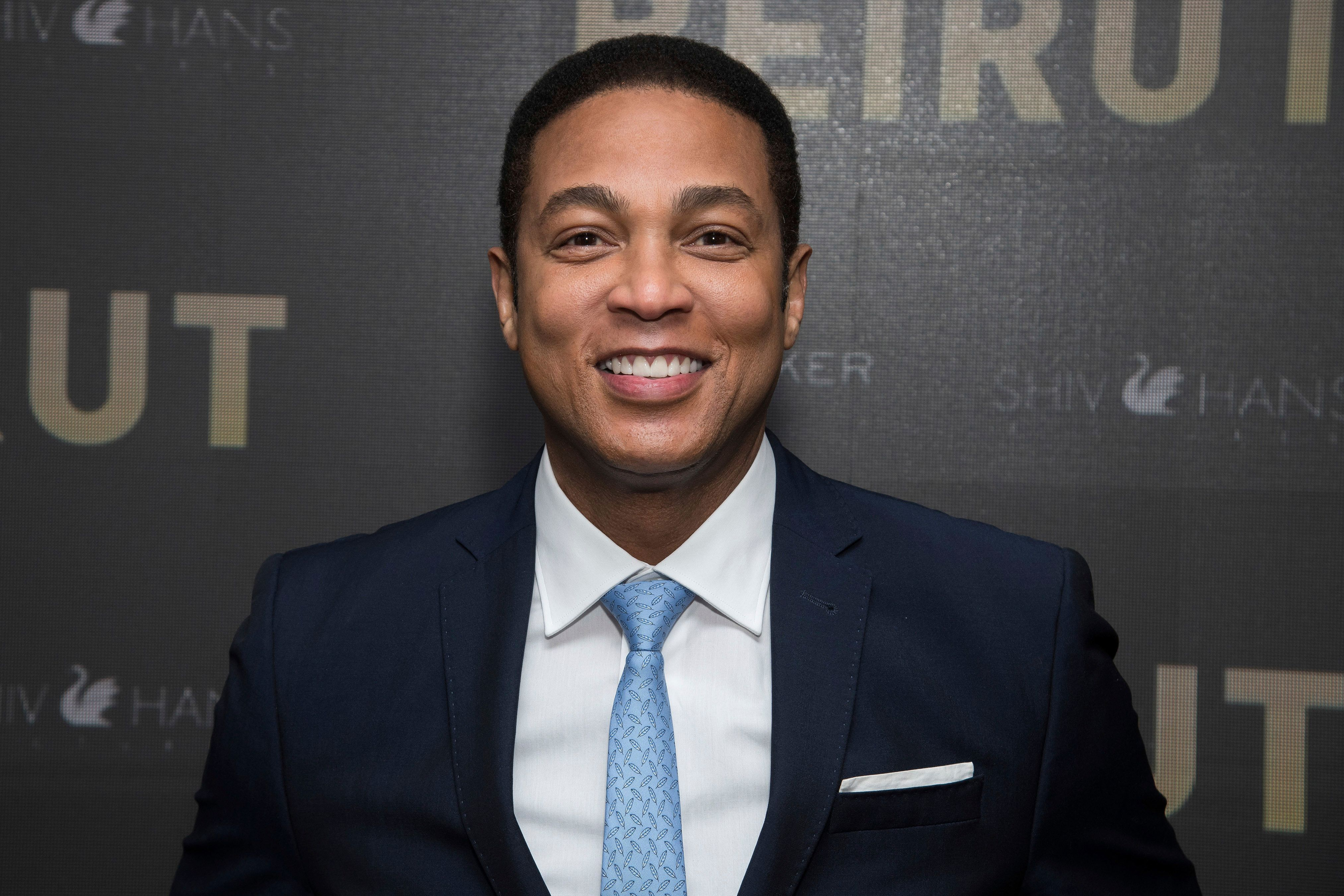 "Don Lemon attends a screening of ""Beirut"" at the Robin Williams Center on Tuesday, April 10, 2018, in New York. (Photo by Charles Sykes/Invision/AP)"