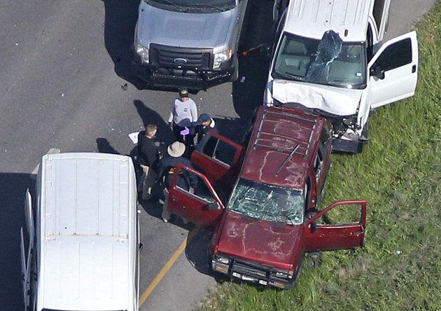 テキサス連続爆弾事件の容疑者、カーチェイスの末に自爆死 知人「静かな子だったが…」