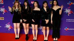「レッドベルベット」の北朝鮮訪問にネット大興奮。韓国芸術団で唯一のアイドルグループ