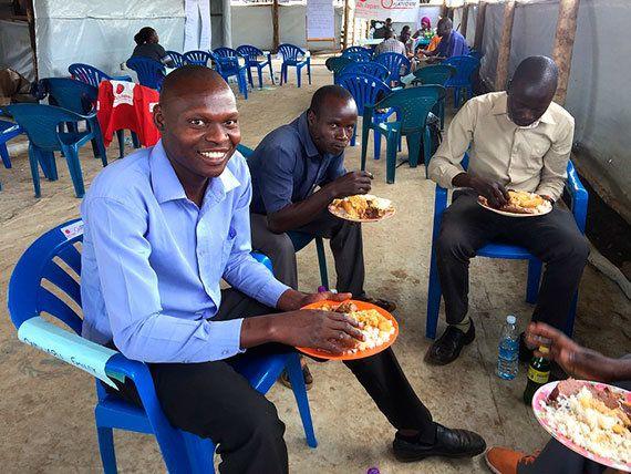 ウガンダ:難民居住地で心が弾んだできごと