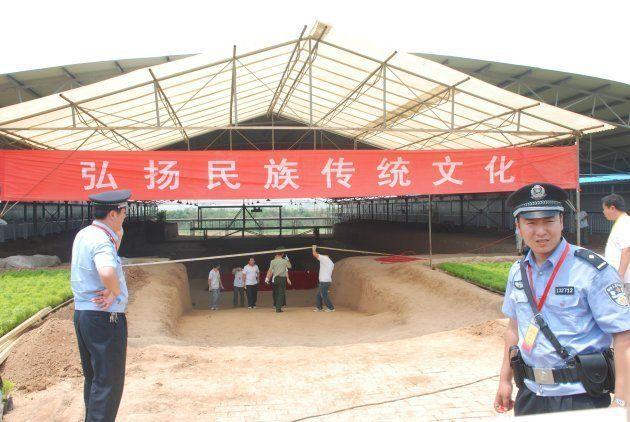 河南省・安陽市で2009年に発見された「曹操の墓」