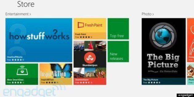 Windowsストアのアプリ数