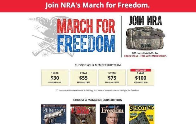 銃規制の声が高まっても、全米ライフル協会への献金は急増している