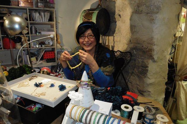 50歳で「才能あるクリエーター賞」を受賞。パリで活躍するニットデザイナー原田江津子さんの生きかた