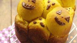 ホームベーカリーで「ハロウィン3Dちぎりパン」ができた