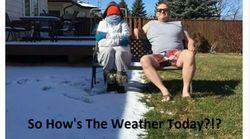 雨→嵐→ひょう→雪からの地震、たった1日で襲いかかる。アメリカ・オクラホマの天候がどうかしてる。