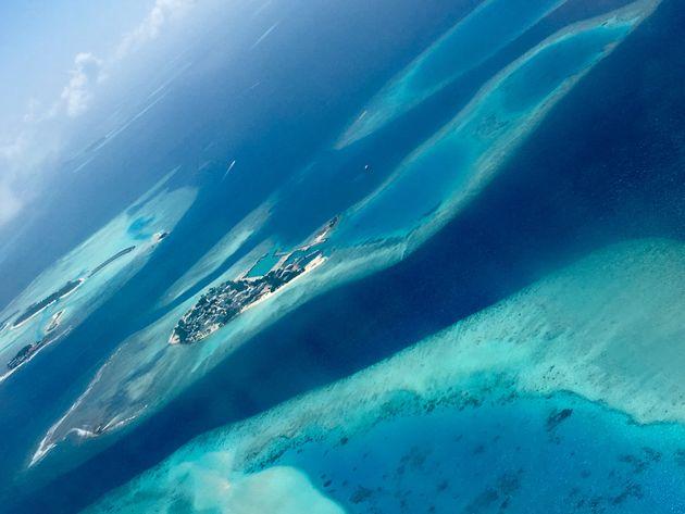 モルディブの領域の99パーセントは海
