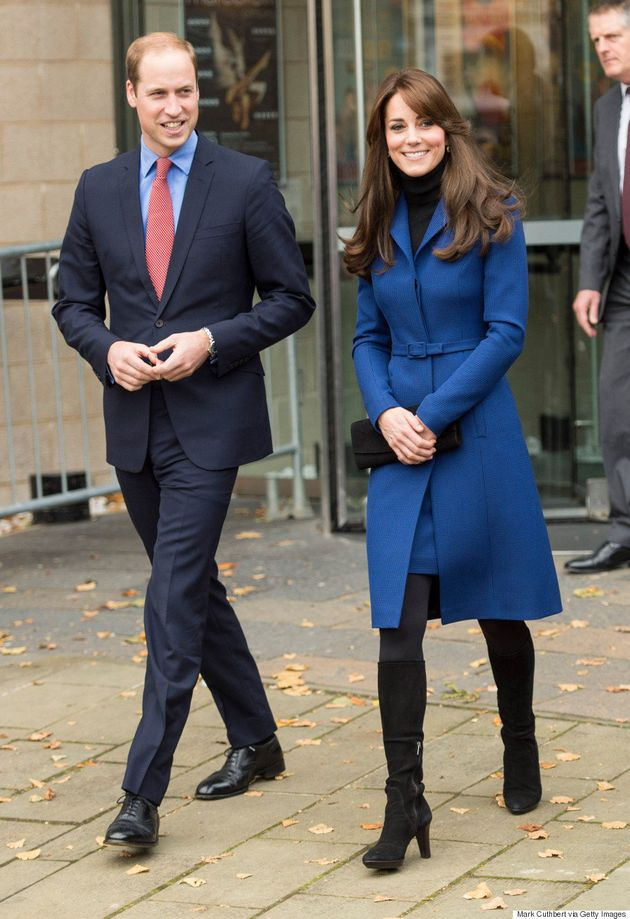 キャサリン妃には、青のコートドレスがお似合いですね。とっても(画像)