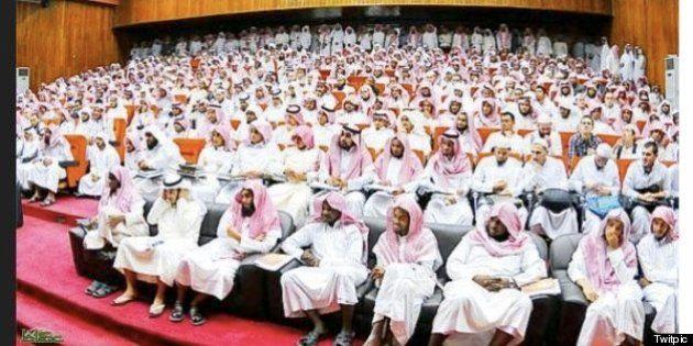 出席者が男性だけの「女性会議」:サウジアラビア