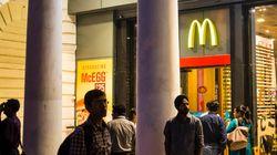 インドに「菜食マクドナルド」がオープン:抗議の声も