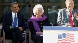 元大統領夫人バーバラ・ブッシュさんは、病院に戻らないことを決めた