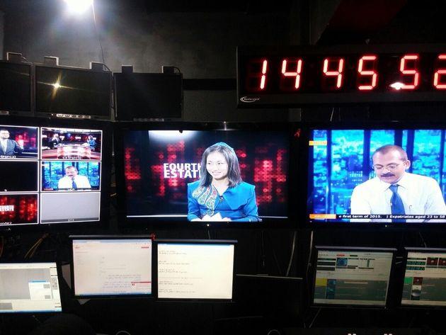 モルディブのインタビュー番組(DhiTV)
