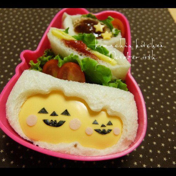 【お弁当に】普段のパンで「ハロウィン・サンドイッチ」を作ろう!