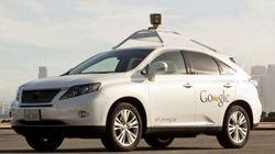 Googleの自動運転カー、6年間のテスト走行で遭遇した事故はどれくらい?
