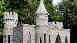 3Dプリンタで自分の家の裏庭にお城を築いた。しかもすばらしい出来栄え