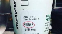 スタバのカップに「差別用語を書かれた」と写真投稿。アメリカで波紋