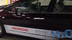 燃料電池車に試乗しました