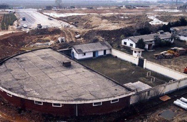 光州市西区治坪洞自由公園の敷地にあった尚武隊営倉の元の姿。5・18記念財団HP