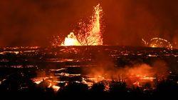 ハワイ島・キラウエア火山の噴火。煮えたぎるマグマが、島を飲み込んだ(動画・画像)