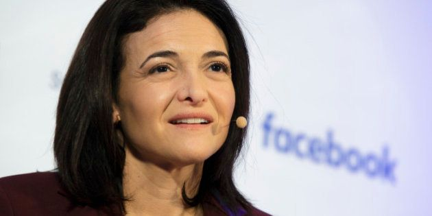 BERLIN, GERMANY - JANUARY 18: Chief Operating Officer at Facebook Sheryl Sandberg on January 18, 2016 in Berlin, Germany. (Photo by Thomas Trutschel/Photothek via Getty Images)