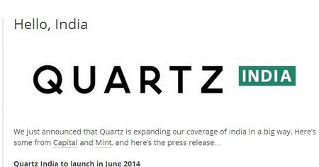 勢い付く新興メディアのBuzzfeed,Quartz,BIがインド版を立ち上げ