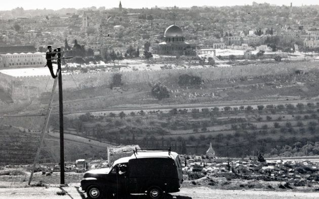オリーブ山から見たエルサレムの旧市街