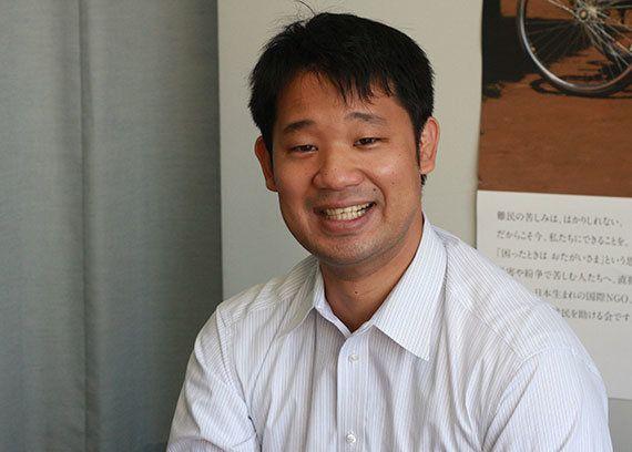 「私がAARを選んだ理由」吉川剛史 これから国際協力の分野を目指す人たちへ