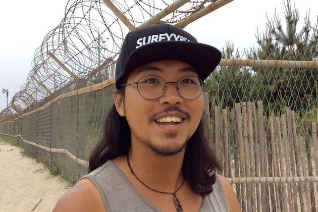 学生時代からフィリピンやオーストラリアなどで暮らした経験を持つイ・ヒョンジュさん=5月29日、韓国襄陽郡
