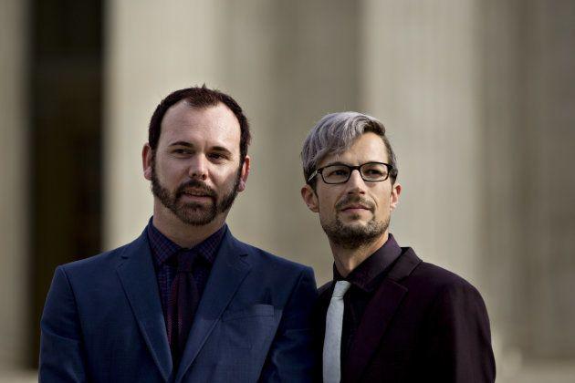 デビッド・マリンズ氏(左)とチャーリー・クレイグ氏