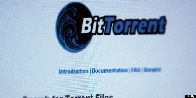 GERMANY - NOVEMBER 01: A search is performed on the BitTorrent Web site, which claims to condemn illegal...