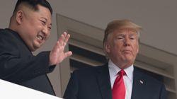 米朝首脳会談で、トランプ氏が大統領専用車「ビースト」の車内を金正恩氏にチラ見せ