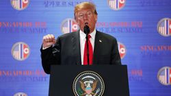 「朝鮮半島の完全非核化」米朝首脳会談の合意文書に盛り込む。
