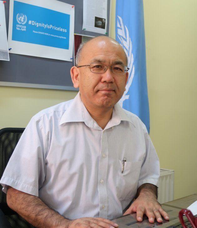 世界保健機関(WHO)でのキャリアを経て、2010年にUNRWA保健局長に就任した清田明宏氏
