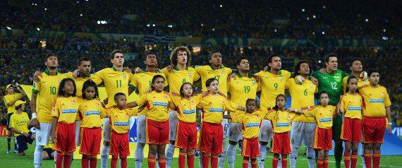 ワールドカップといったら国歌斉唱だ!