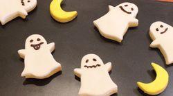 【マシュマロ簡単デコ】ゴーストクッキーが初心者でもかわいく作れた!