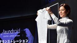 全自動「洗濯物たたみ機」の開発へ どれくらい家事が楽になる?【動画】