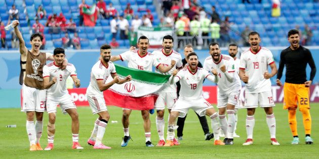 Soccer Football - World Cup - Group B - Morocco vs Iran - Saint Petersburg Stadium, Saint Petersburg,...