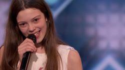 13歳の女の子は、「鬼」の審査員さえ唸らせた。アメリカの人気オーディション番組で圧巻の歌声。