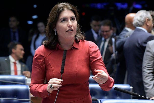 A senadora Simone Tebet, que assumirá a