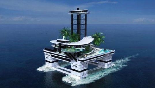 「動く島」が誕生するよ。新しい海上の暮らし(画像)