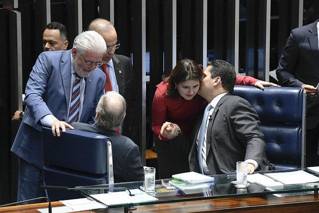 Após perder disputa interna para Renan, Tebet é escolhida pelo MDB para presidir CCJ no