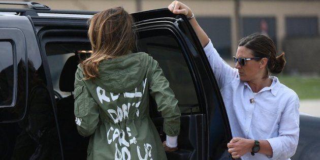 「ぶっちゃけ、どうでもよくない?」メラニア夫人のジャケットが物議