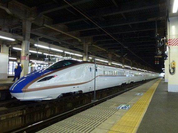 北陸新幹線金沢―長野間は、2015年3月14日に開業