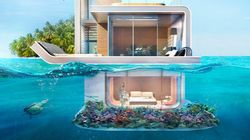 この海に浮かぶ家は、ドバイに本当に存在する(画像)