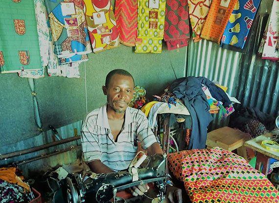 ケニア:18ヵ国から逃れてきた難民の人々