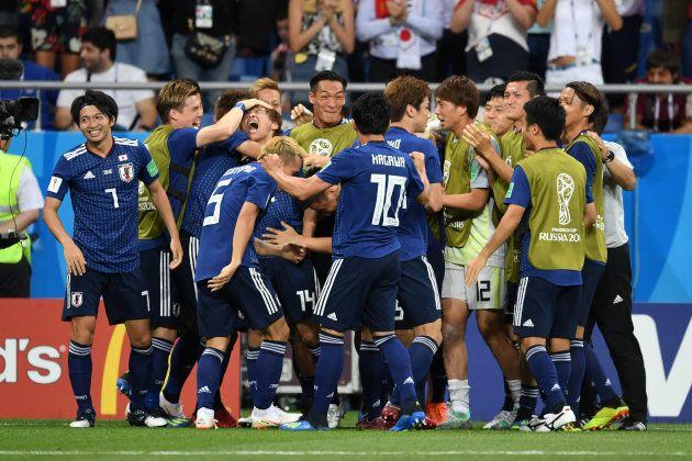 先制し、2-0でベルギーをリードした日本代表。たくさんの感動を与えてくれた。